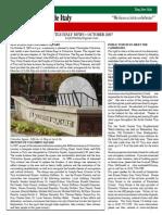 october 2007 news