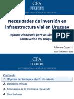 Inversion Infraestructura Vial Uruguay