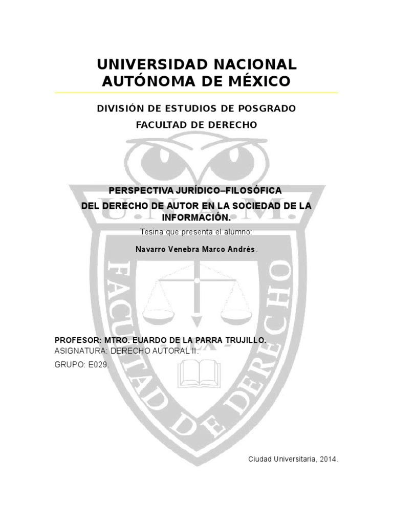 Universidad Nacional Autónoma De México: División De