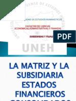 Subsidiarias y Filiales