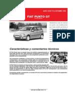 DATOS TECNICOS FIAT PUNTO GT