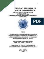 MODELO TESINA CONTROL INVENTARIO HARDWARE Y SOFTWARE