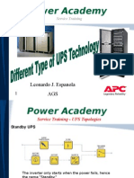 Deifferent Type of UPS Technology