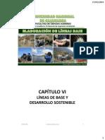Capítulo VI. Líneas de Base y Desarrollo Sostenible