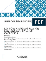 run-on sentences lesson