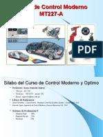 Presenta Control Moderno