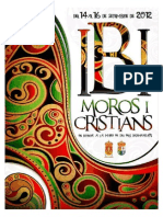2012 - Libro Oficial de Fiestas de Moros y Cristianos de Ibi