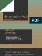 Metamorphic Rocks Presentation
