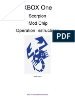 Scorpion XBOX One Operation Instructions 2-2-2014
