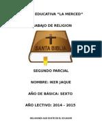 Religiones Que Existe en El Ecuador