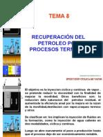 Tema 8 Recuperacimetodos de recuperacion on Por Metodos Termicos