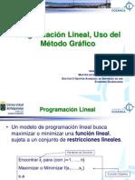 PPL Programacion Lineal - Metodo Grafico