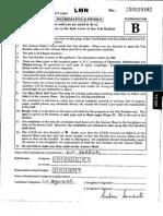 JEE Main Paper 1 2015 Eng Code b
