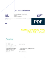 Kernel Upgrde Win2k