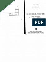 Aldo Ferrer - La Economia Argentina Libro Completo