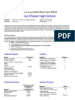 Executive Summary School Accountability Report Card, 2008-09