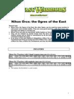 [ Nick Lund | Grenadier ] Fantasy Warriors army book M11b Ogres East