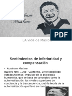 Abraham Maslow Vida