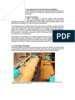 Detailed Description of Proposed Fuel Infra Structure Installation