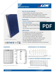 245 watt solar panel specifications