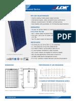 245 watt solar panel specifications