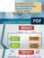 Implementacion de Contabilidad Electronica