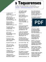 Letras Taquarenses Nº 56 * Antonio Cabral Filho - Rj