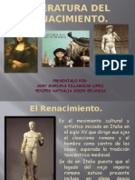 Literatura Del Renacimiento Expo