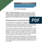 00 Metodología Educativa en Un Grupo de Jóvenes Desplazados