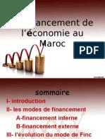 Le Financement de l'Économie Au Maroc