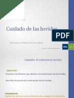 Cuidado de Las Heridas Soria 2015