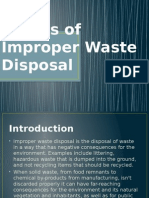Effects of Improper Waste Disposal