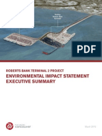 Roberts Bank Terminal 2 EIS Executive Summary March 20151