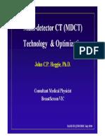 CT Dose Optimisation