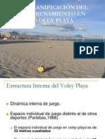 Planificacion Del Entrenamiento en Voley Playa