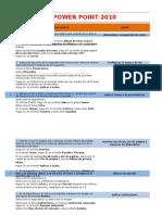 Preguntas Prácticas PowerPoint 2010