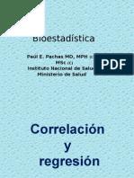 Correlacion y Regresion Dr Paul Pachas Ok
