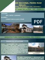 ARQUITECTURA HABITACIONAL EN EL CUSCO