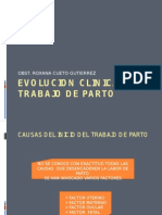 Evolucion Clinica Del Trabajo de Parto