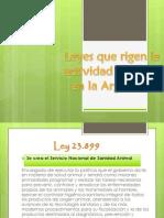 Leyes Que Rigen La Actividad Pecuaria PDF