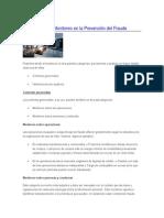 Importancia Del Monitoreo en La Prevención Del Fraude