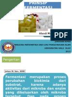 Prinsip Fermentasi