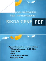 Instal Sikda Generik v1.3