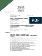 ISSA's Resume 1