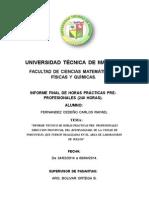 INFORME FINAL DE PASANTIAS FERNANDEZ CEDEÃ'O CARLOS RAFAEL. 130882677-3.