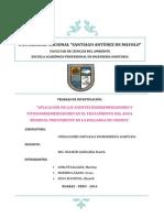 Agentes Biorremediadores y Fitozoorremediadores
