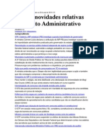Atualidades Em Direito Administrativo