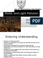 Air, Noise, And Light Pollution Ppt