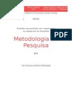 Metodologia Da Pesquisa - Primeiro Trabalho