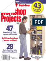 Wood Magazine 101+ Best-Ever Workshop Projects 2009